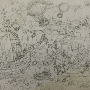 Les bateaux : dessin