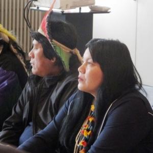Kaïlu, représentante des femmes d'Amazonie