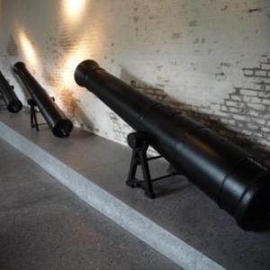 Canon tres lourd fabrique dans la région liegeoise