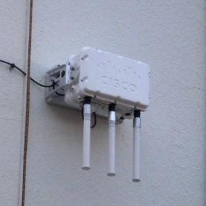 Un reseau Wifi en place