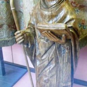 St Poppon en chêne ( 1501 - 1510 )