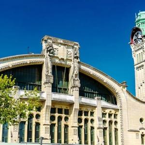10. Gare de Rouen-Rive Droite ( Seine-Maritime )