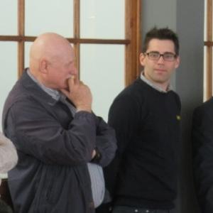 Ms Goblet ( gestion du projet ), Mignon ( gerant du Globe ), Gilson ( futeur exoploitant ), Gehlen ( proprietaire du site )