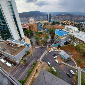 Kigali vu de haut