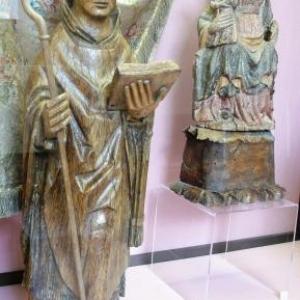 """St Poppon et """" La Madone"""""""