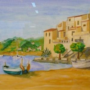 Bruno ZAMPESE ( Peinture - pyrogravure ) 080. 77 18 59