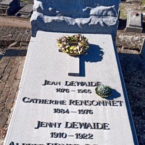15) Famille Dewaide-Rensonnet   (Photo F. Detry )