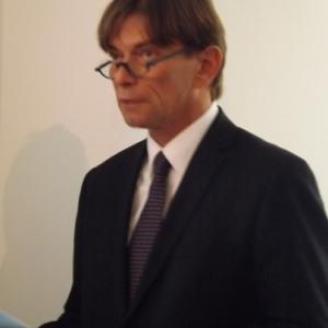 M. Mathy, President du Foyer Malmedien