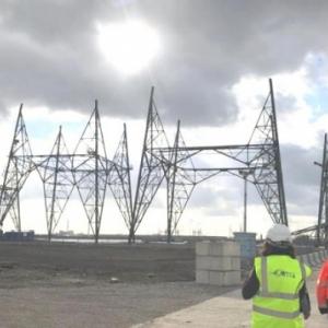 Les plus hauts pylônes électriques du Benelux