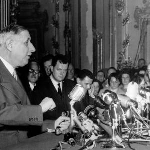 1958 Conférence de presse