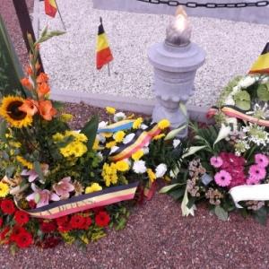 Le mausolee fleuri