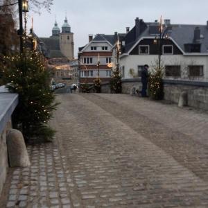 2014  Le pont d'Outrelepont ( Noël 2014 )