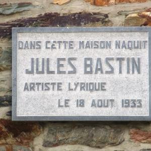 Maison natale deJules Bastin, né le 18 août 1933