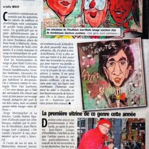 Les caricatures de Malmedy dans la presse
