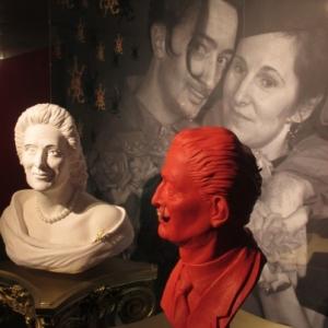 Dali et Galia, sa femme et son modele