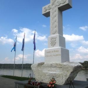 Vukovar : le memorial pour toutes les victimes de Vukovar et environs