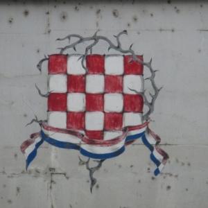 Vinkovci le drapeau croate