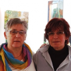 Monique Wouters et Bonaria Serafini