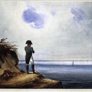 L'ancien maître de l'Europe exilé à Sainte-Hélène Quel roman que ma vie! © getty images