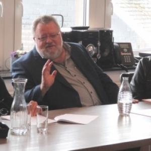 Les responsables communaux et du Tourisme : Ms Crasson et Stoffels, Mmes Vandeuren et Konigs