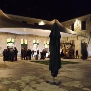 La cour interieure du monastere
