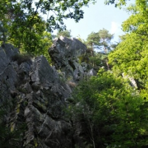 Le rocher de Bilisse, la tour de garde des Sotais