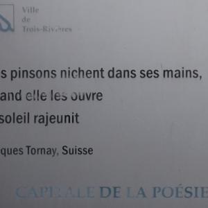 Trois - Rivieres, capitale internationale de la poesie