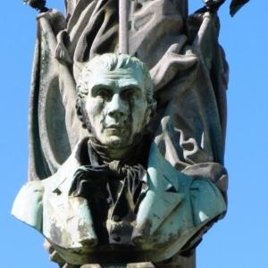 Détails de la fontaine Pierre David
