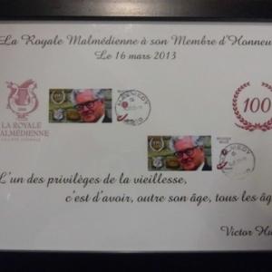 """Reception """" Royale Malmedienne """" : la reconnaissance du choeur"""