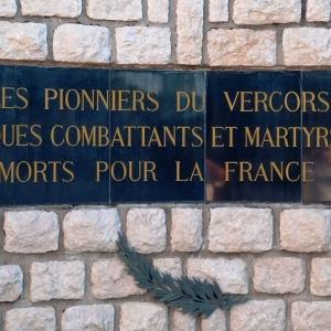 Le mémorial et la nécropole de St Nizier du Moucherotte