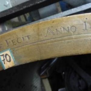 """Le tambour marque """" Lejoncqe """" et """" 1786 """""""