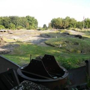 Vue generale de la surface du fort