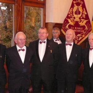 Les quatre Decores 2007 (g a d) G. Dostriche, V. Lambert, M. Distree (President), R. Collienne, M. Bragard