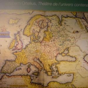 """ Le theatre de l'univers "" ( Ortelius )"
