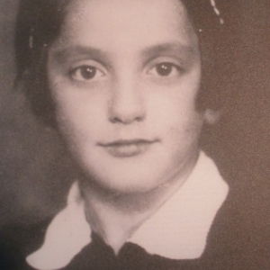 Mascha Rolnikaite ( 1929 ) , jeune juive du ghetto de Vilnius