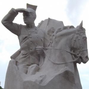 Le monument a Thimister - Clermont