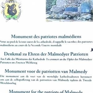 Cérémonie du 11 novembre 2019 à Malmedy