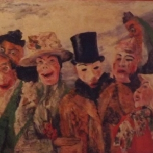 "James ENSOR  "" Les masques """