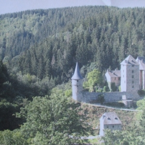 Waimes : le chateau de Reinhardstein