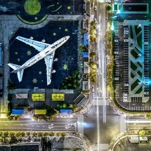 4 Abandonné, Shanghai, Chine  © Attila Balogh - Drone Awards 2020