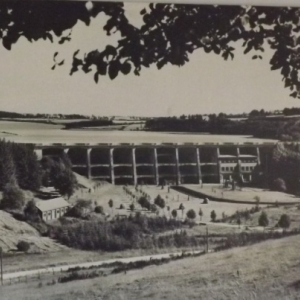 Le barrage de Butgenbach