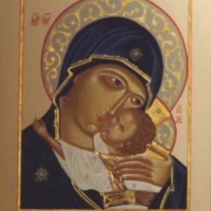 La Vierge et l' Enfant