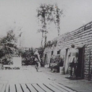 Le poste avance d'assistance medicale Essex Farm en 1915
