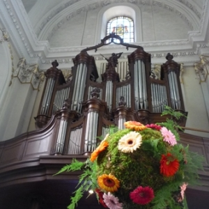 Decoration de la Cathedrale par l'IPEA de La Reid