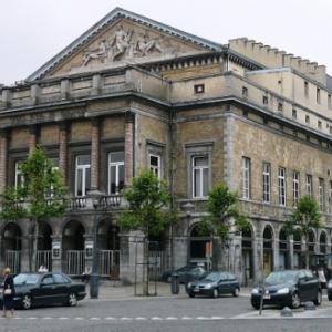 Liege : Opera ( facade arriere )
