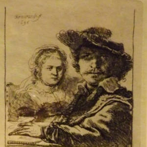Autoportrait avec Saskia ( 1636 )
