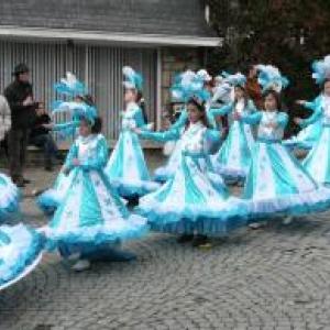 Samba a Coopacabana ( Les Djoyeux Cooytais - Stavelot )  Prix du plus beau costume et de l'animation de rues