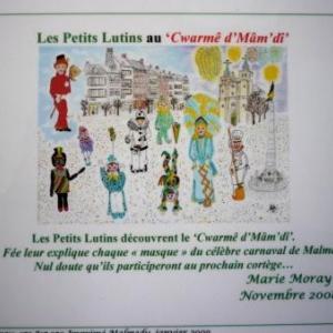 Marie MORAY    Les petits lutins au Cwarme d' Mamdi