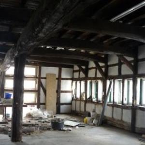 Le 1er etage en chantier