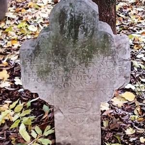"""Promenade du """"Thier des Oies""""  Morte mystérieusement en 1705 à l'age de 17 ans. Elle habitait Cologne et travaillait dans une ferme environnante."""